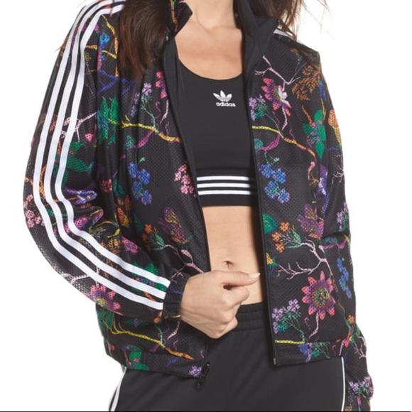 adidas Jackets & Blazers - ADIDAS reversible track jacket